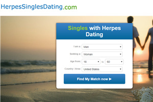 Dating service match herpes